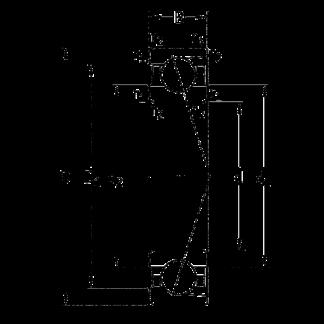Сверхточный подшипник 7208 ACD/P4A