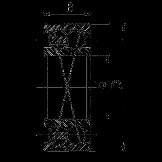 Радиальный двухрядный шариковые подшипник 1614 Л 2314 M