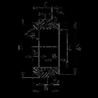 Сверхточный подшипник 234413 M-SP