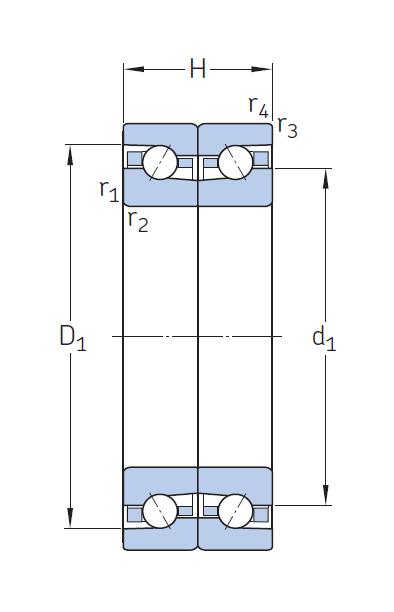 Сверхточный подшипник BTM 130 ATN9/P4CDBA