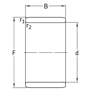 Внутреннее кольцо IR 12x15x12.5