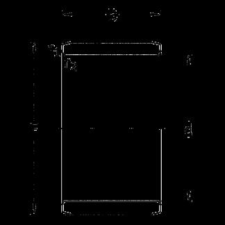 Внутреннее кольцо IR 10x14x16