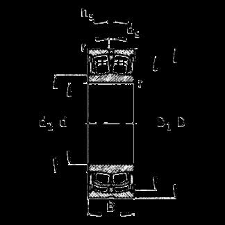 Подшипник WS 22210 E1 XL 2RSR BS2-2210 E1 2RSR