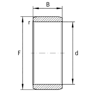 Внутреннее кольцо IR 12x16x16 XL